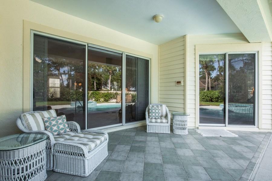 Real Estate Photography - 767 Glendevon Drive, Naples, FL, 34105 - Lanai