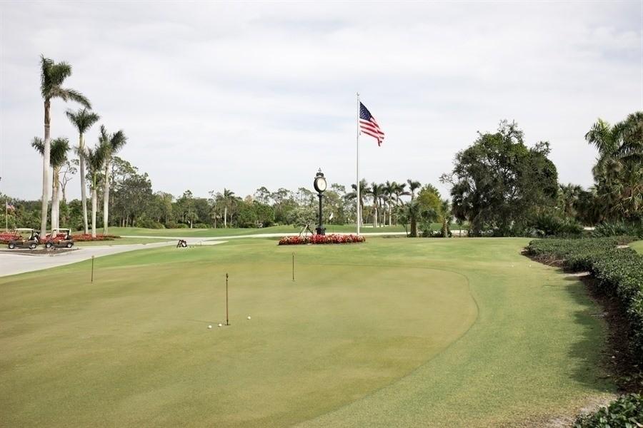 Real Estate Photography - 767 Glendevon Drive, Naples, FL, 34105 - Golf Course