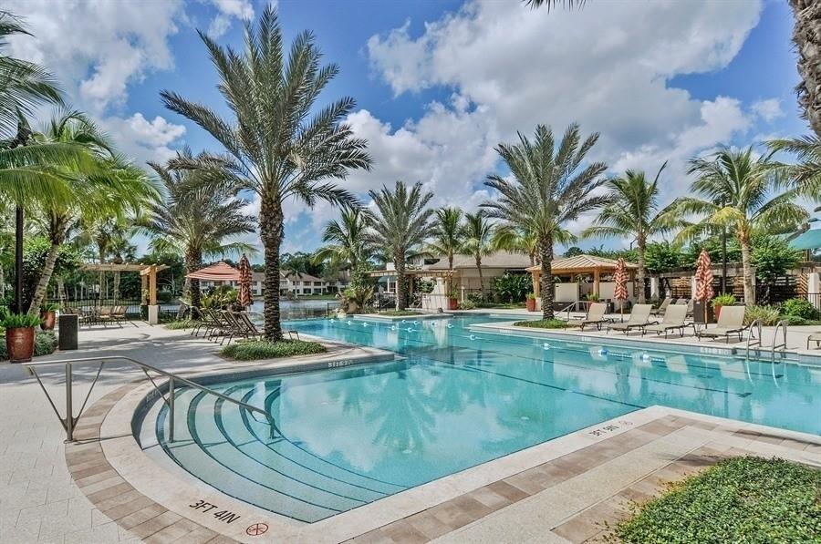 Real Estate Photography - 767 Glendevon Drive, Naples, FL, 34105 - Resort Pool