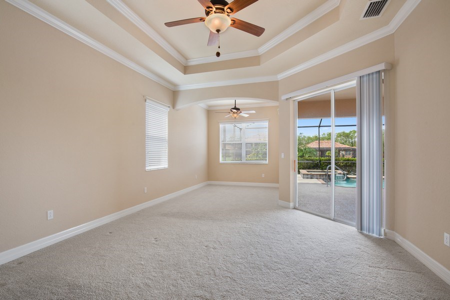 Real Estate Photography - 20982 TORRE DEL LAGO ST, ESTERO, FL, 33928 - Master Bedroom