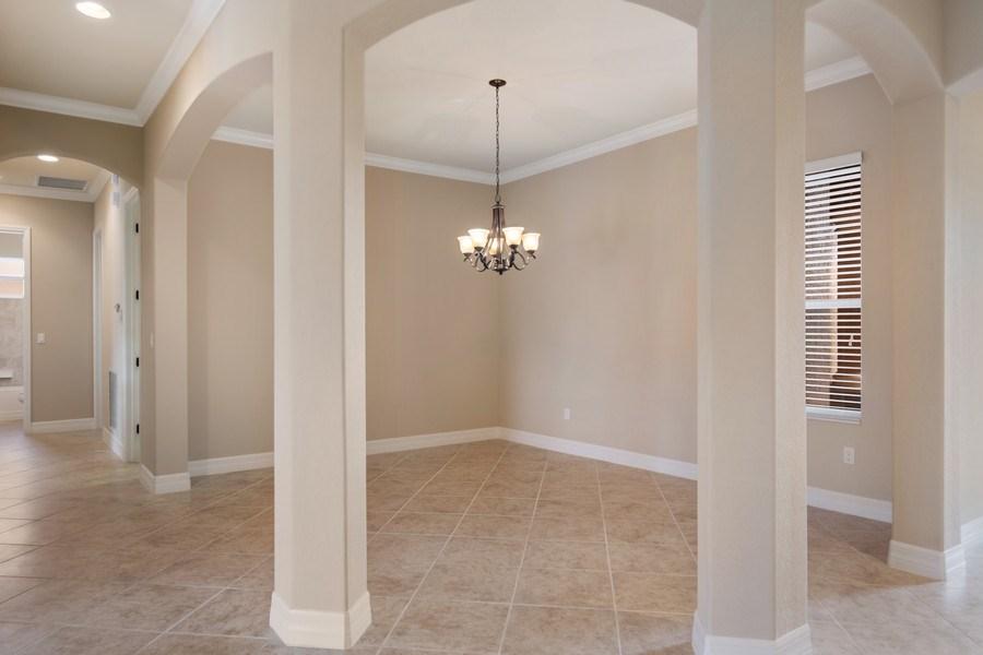 Real Estate Photography - 20982 TORRE DEL LAGO ST, ESTERO, FL, 33928 - Dining Room