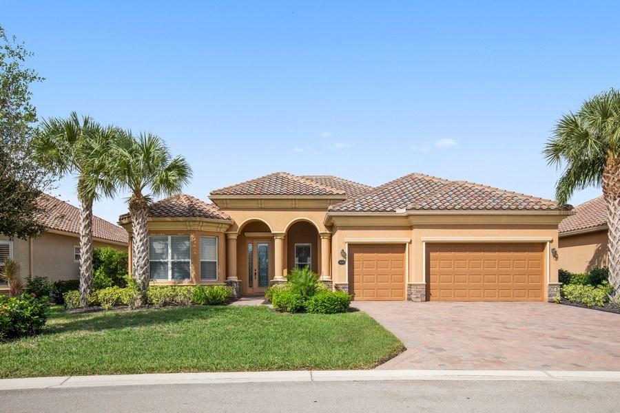 Real Estate Photography - 20982 TORRE DEL LAGO ST, ESTERO, FL, 33928 - Front View