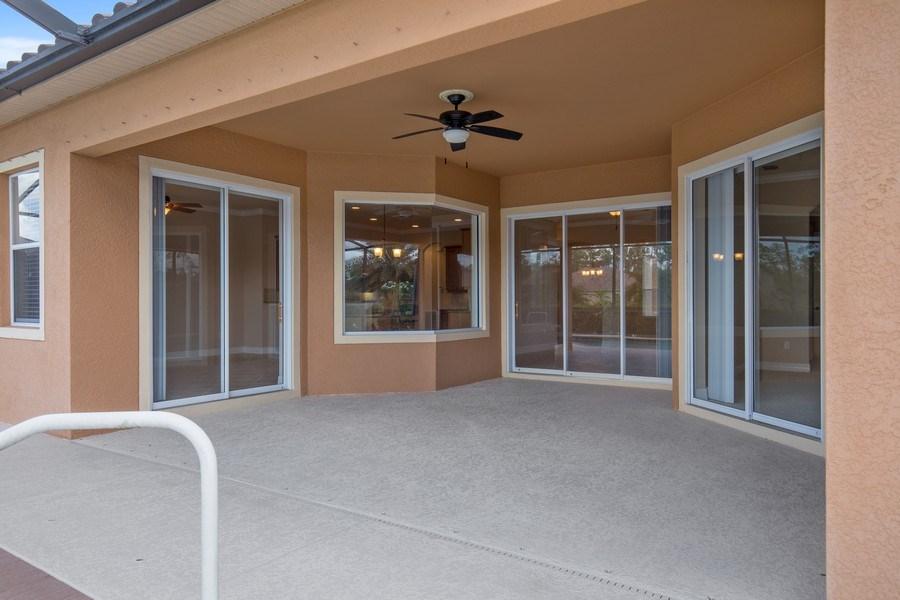Real Estate Photography - 20982 TORRE DEL LAGO ST, ESTERO, FL, 33928 - Lanai
