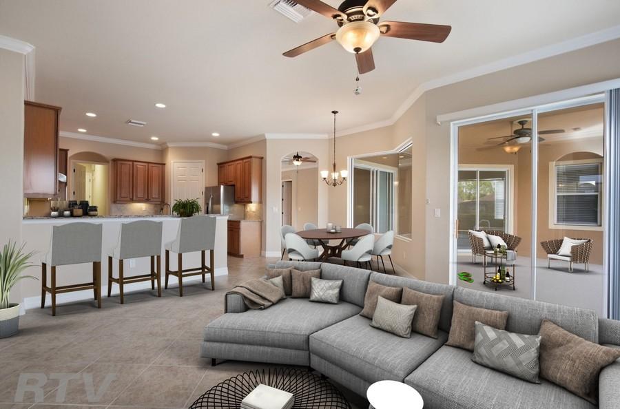 Real Estate Photography - 20982 TORRE DEL LAGO ST, ESTERO, FL, 33928 -
