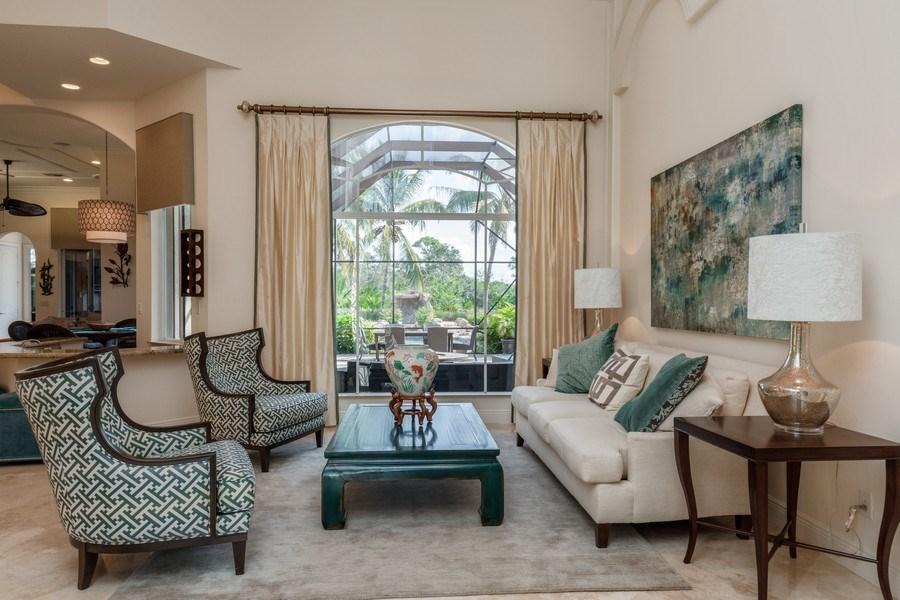 Real Estate Photography - 19871 Chapel Trace, Estero, FL, 33928 - Living Room
