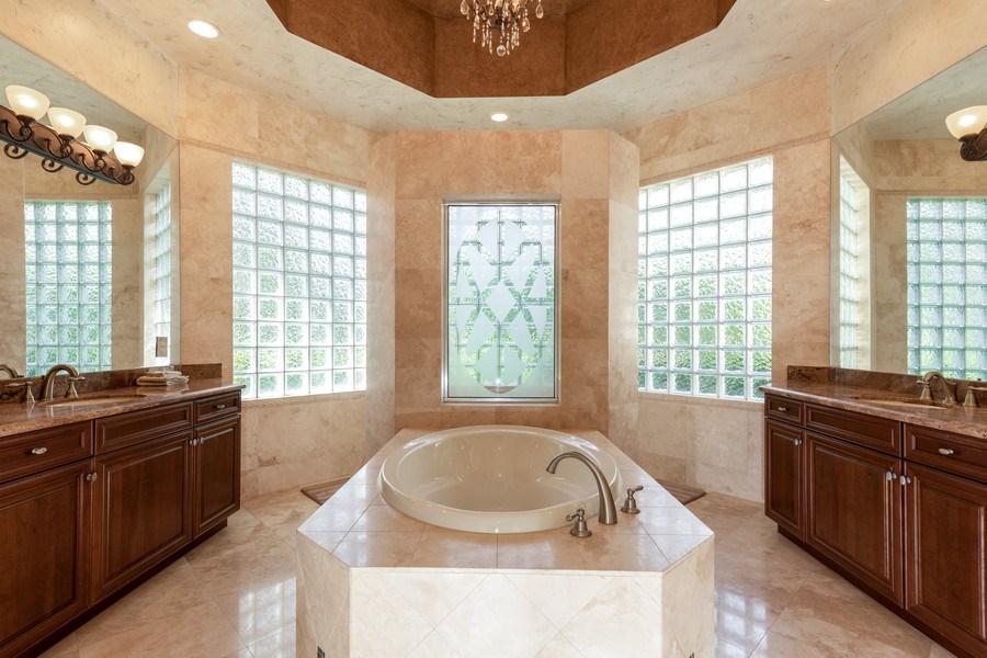 Real Estate Photography - 19871 Chapel Trace, Estero, FL, 33928 - Master Bathroom