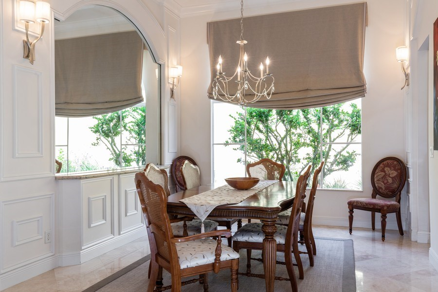 Real Estate Photography - 19871 Chapel Trace, Estero, FL, 33928 - Dining Room