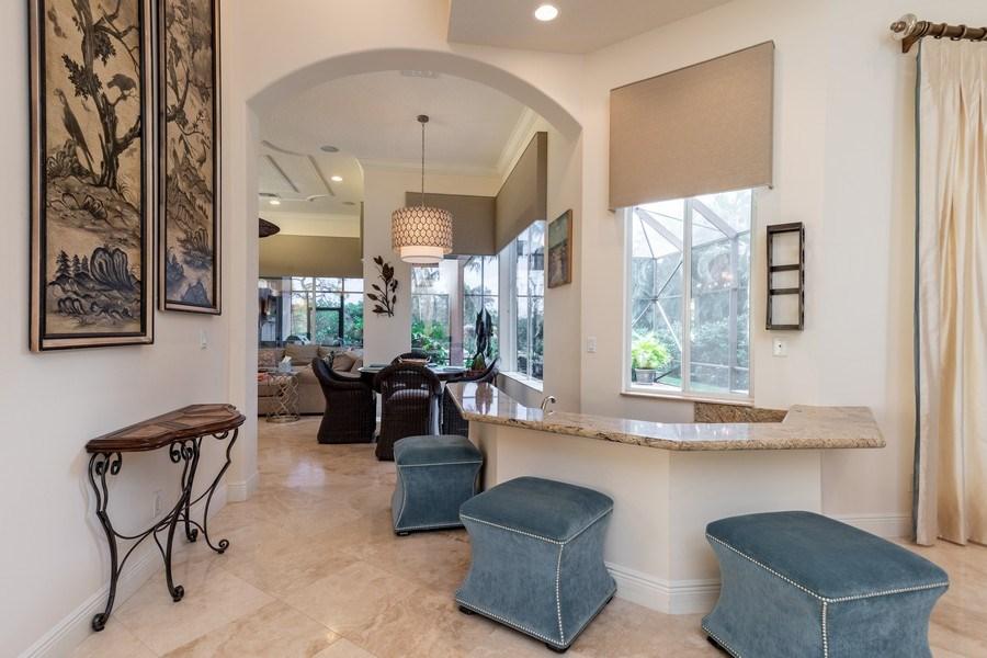 Real Estate Photography - 19871 Chapel Trace, Estero, FL, 33928 - Breakfast Area