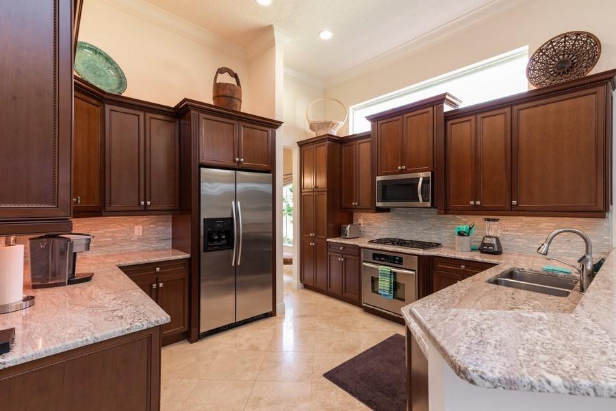 Real Estate Photography - 19871 Chapel Trace, Estero, FL, 33928 - Kitchen