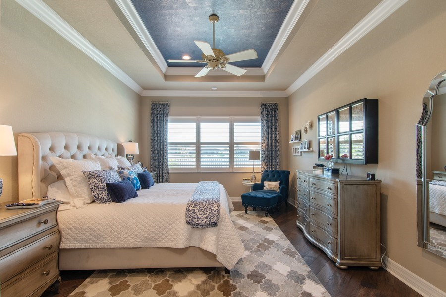 Real Estate Photography - 2767 Cinnamon Bay Circle, Naples, FL, 34119 - Master Bedroom