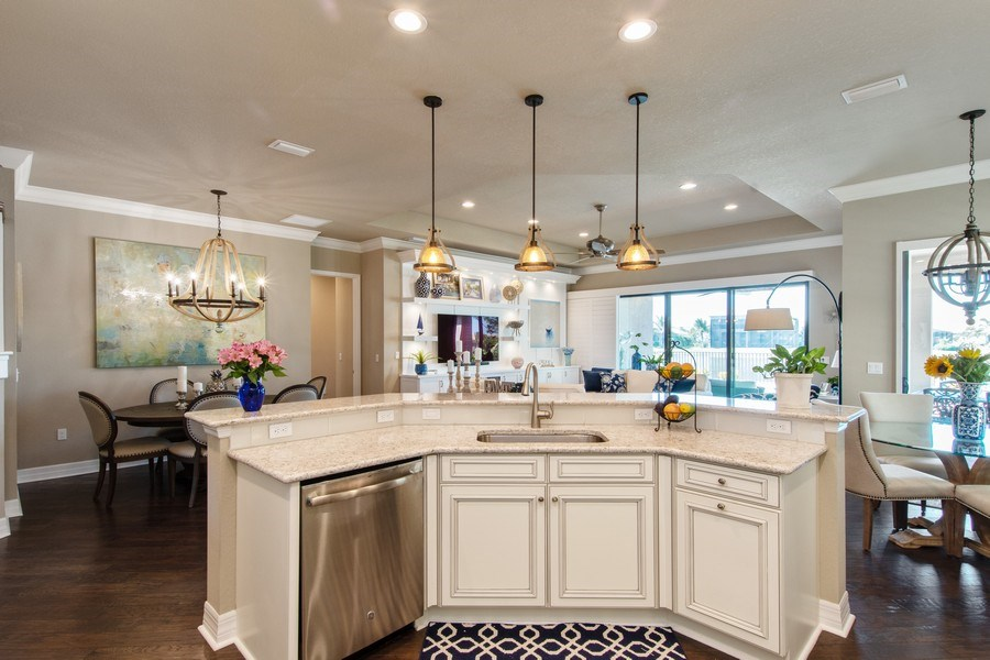 Real Estate Photography - 2767 Cinnamon Bay Circle, Naples, FL, 34119 - Kitchen