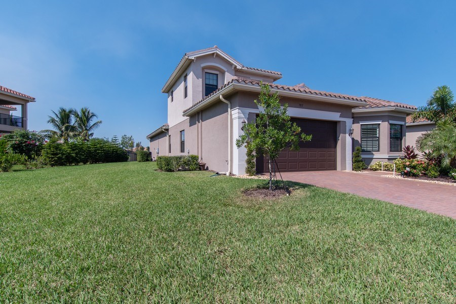 Real Estate Photography - 2767 Cinnamon Bay Circle, Naples, FL, 34119 - Front View