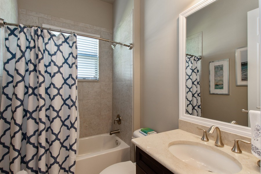 Real Estate Photography - 2767 Cinnamon Bay Circle, Naples, FL, 34119 - Bathroom