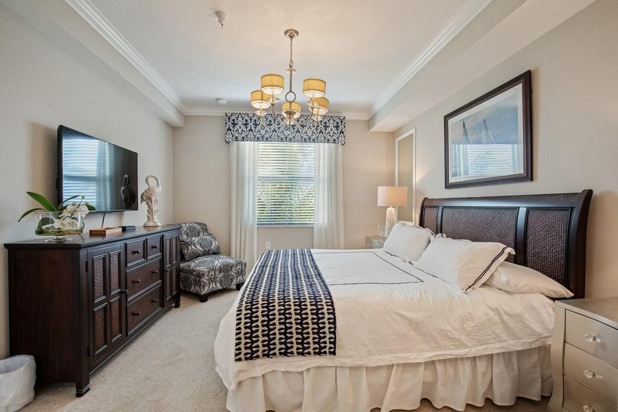 Real Estate Photography - 17921 Bonita National Blvd, #224, Bonita Springs, FL, 34135 - Master Bedroom