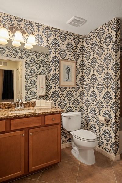 Real Estate Photography - 17921 Bonita National Blvd, #224, Bonita Springs, FL, 34135 - 2nd Bathroom