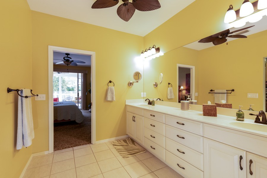 Real Estate Photography - 3791 Cracker Way, Bonita Springs, FL, 34134 - Master Bathroom