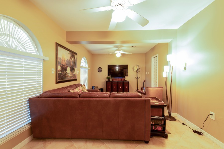 Real Estate Photography - 3791 Cracker Way, Bonita Springs, FL, 34134 - Entertainment Room