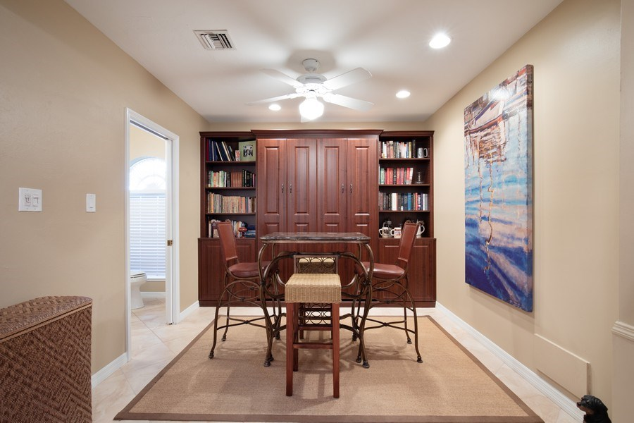 Real Estate Photography - 3791 Cracker Way, Bonita Springs, FL, 34134 - Game Room
