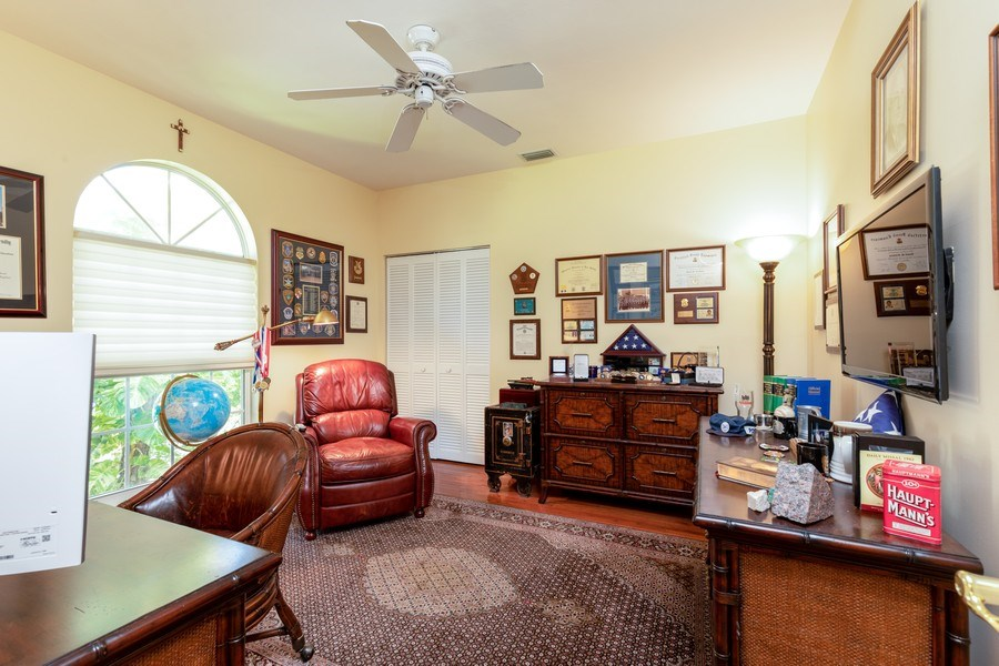 Real Estate Photography - 3791 Cracker Way, Bonita Springs, FL, 34134 - Study