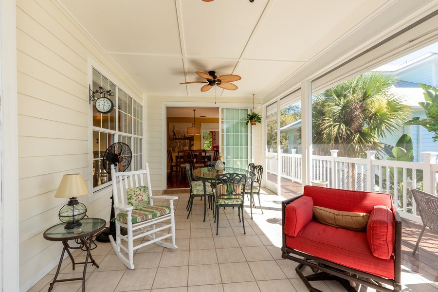 Real Estate Photography - 3791 Cracker Way, Bonita Springs, FL, 34134 - Lanai