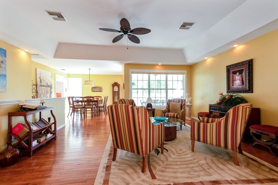 Real Estate Photography - 3791 Cracker Way, Bonita Springs, FL, 34134 - Living Room / Dining Room