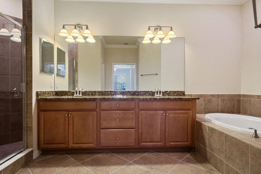 Real Estate Photography - 28030 Cookstown Ct, 2903, Bonita Springs, FL, 34135 - Master Bathroom