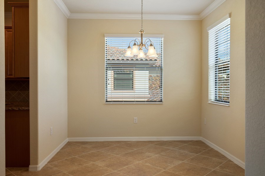 Real Estate Photography - 28030 Cookstown Ct, 2903, Bonita Springs, FL, 34135 - Dining Room
