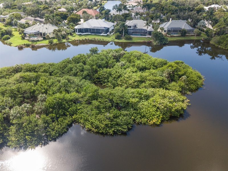 Real Estate Photography - 4200 Lake Forest Dr, 1622, Bonita Springs, FL, 34134 - Aerial View