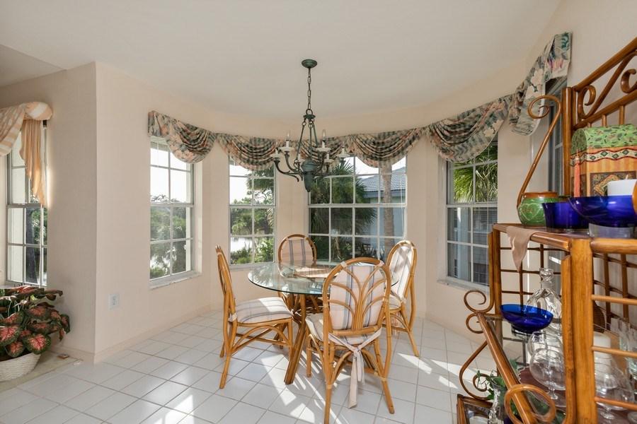 Real Estate Photography - 4200 Lake Forest Dr, 1622, Bonita Springs, FL, 34134 - Breakfast Area