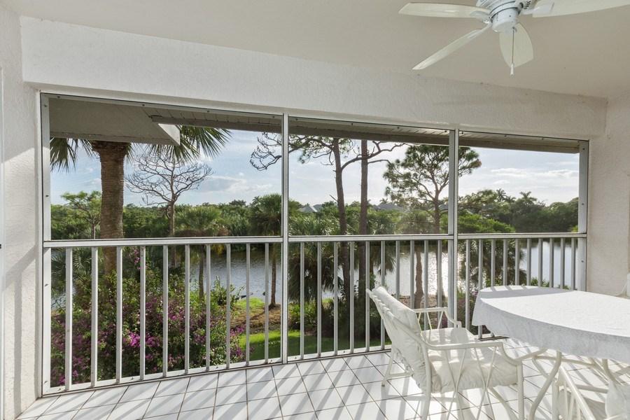 Real Estate Photography - 4200 Lake Forest Dr, 1622, Bonita Springs, FL, 34134 - Lanai