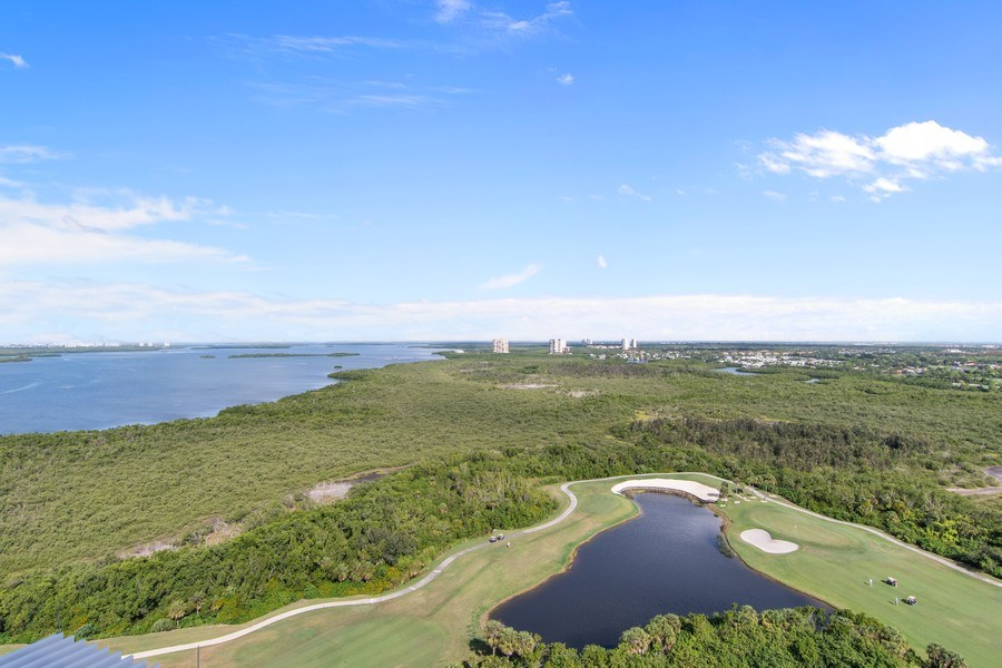 Real Estate Photography - 4971 Bonita Bay Boulevard Penthouse, Seaglass at Bonita Bay #2205, Bonita Springs, FL, 34134 - View