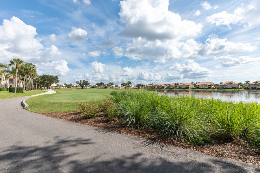 Real Estate Photography - 28012 Cavendish Ct. #5001, Bonita Springs, FL, 34135 - Golf Course