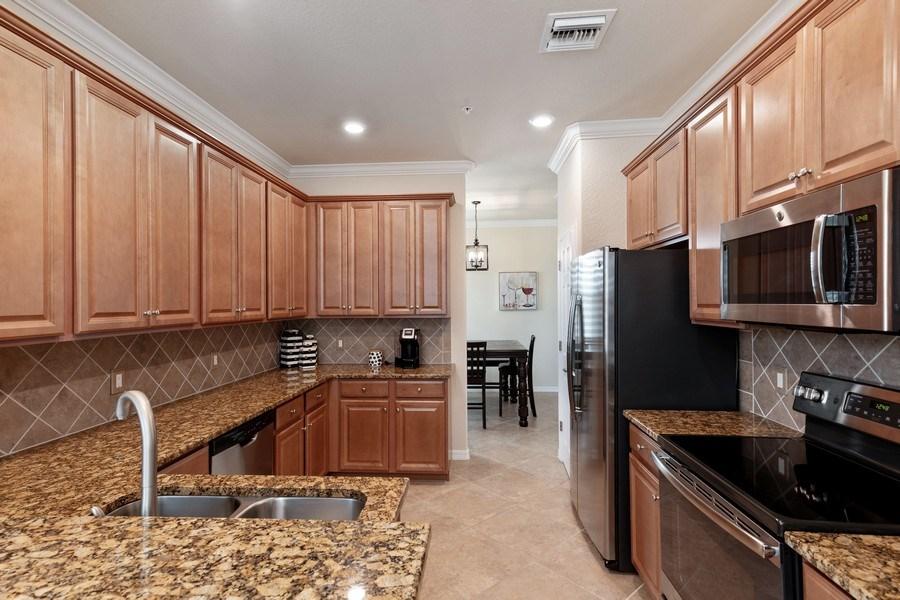 Real Estate Photography - 28010 Cookstown Ct, 3103, Bonita Springs, FL, 34135 - Kitchen