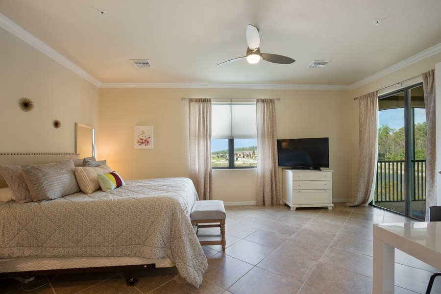 Real Estate Photography - 28010 Cookstown Ct, 3103, Bonita Springs, FL, 34135 - Master Bedroom