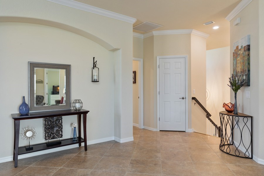 Real Estate Photography - 28010 Cookstown Ct, 3103, Bonita Springs, FL, 34135 - Foyer