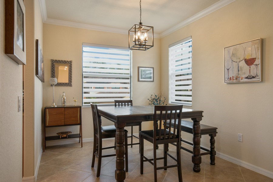 Real Estate Photography - 28010 Cookstown Ct, 3103, Bonita Springs, FL, 34135 - Dining Room