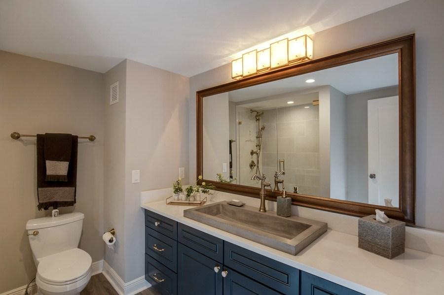Real Estate Photography - 3003 Gulf Shore Blvd N,, Unit 103, Naples, FL, 34103 - 3rd Bathroom