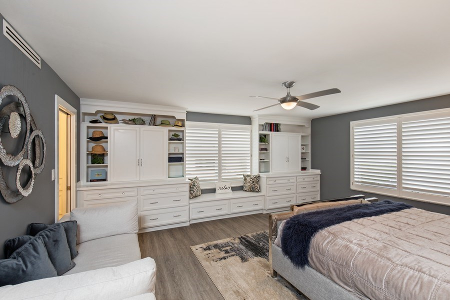 Real Estate Photography - 3003 Gulf Shore Blvd N,, Unit 103, Naples, FL, 34103 - Master Bedroom