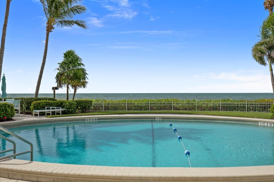 Real Estate Photography - 3003 Gulf Shore Blvd N,, Unit 103, Naples, FL, 34103 - Gulf View