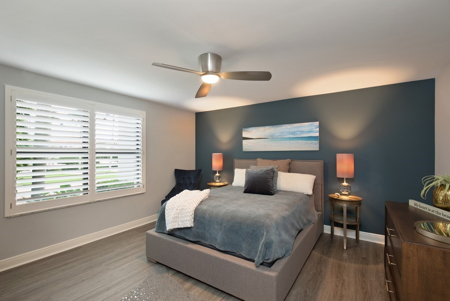 Real Estate Photography - 3003 Gulf Shore Blvd N,, Unit 103, Naples, FL, 34103 - 3rd Bedroom