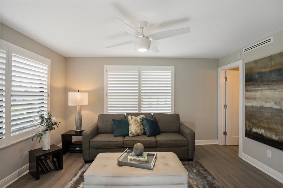 Real Estate Photography - 3003 Gulf Shore Blvd N,, Unit 103, Naples, FL, 34103 - Den