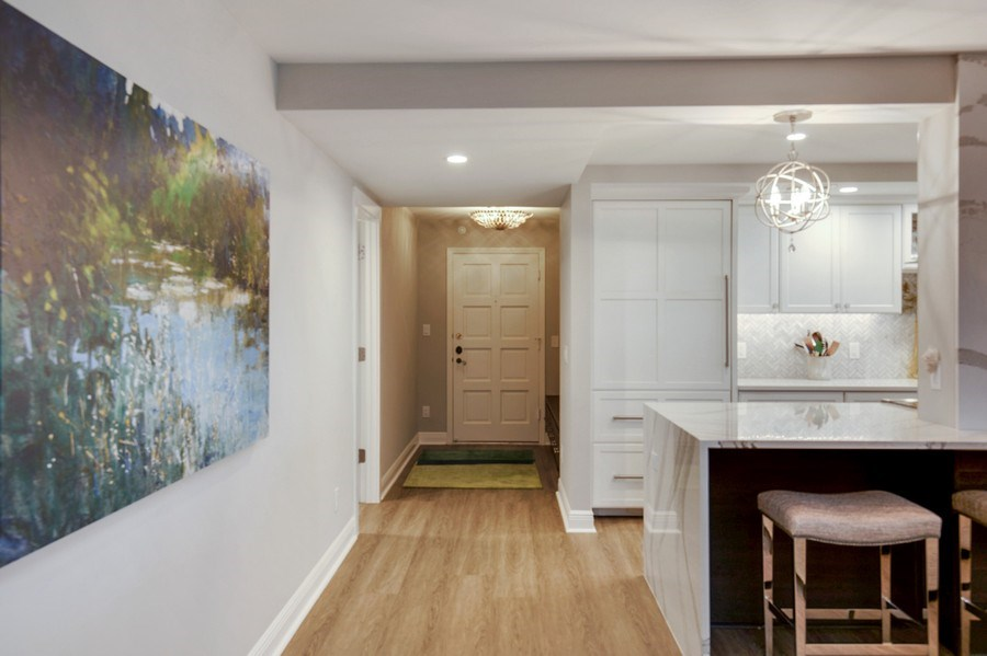 Real Estate Photography - 3003 Gulf Shore Blvd N,, Unit 103, Naples, FL, 34103 - Hallway