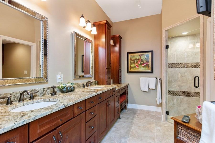 Real Estate Photography - 25422 Galashields, Bonita Springs, FL, 34134 - Master Bathroom