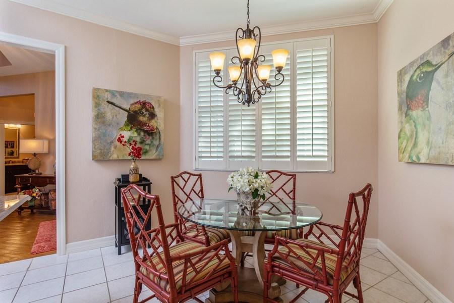 Real Estate Photography - 25422 Galashields, Bonita Springs, FL, 34134 - Breakfast Area