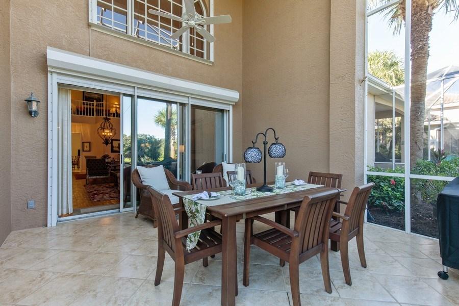 Real Estate Photography - 25422 Galashields, Bonita Springs, FL, 34134 - Lanai