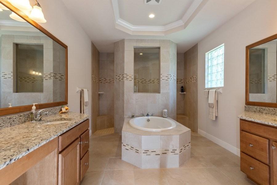 Real Estate Photography - 28460 San Amaro, Bonita Springs, FL, 34135 - Master Bathroom