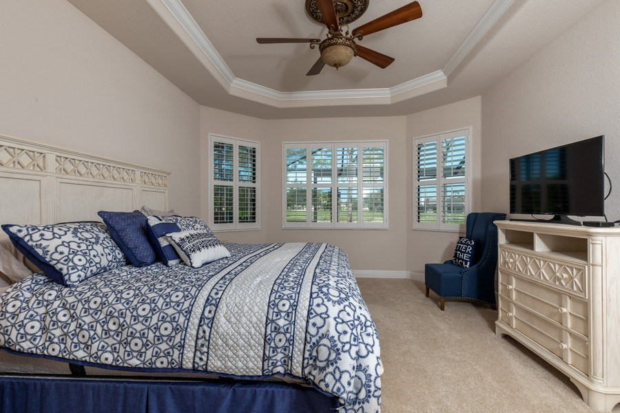 Real Estate Photography - 28460 San Amaro, Bonita Springs, FL, 34135 - Master Bedroom