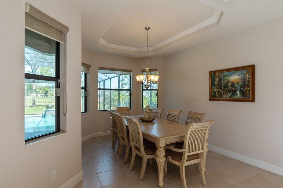 Real Estate Photography - 28460 San Amaro, Bonita Springs, FL, 34135 - Dining Room