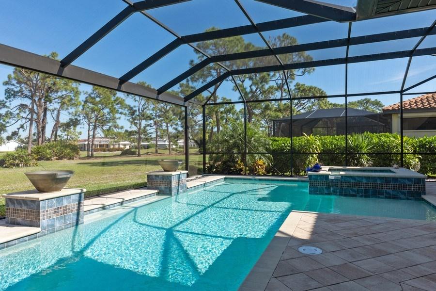 Real Estate Photography - 28460 San Amaro, Bonita Springs, FL, 34135 - Pool