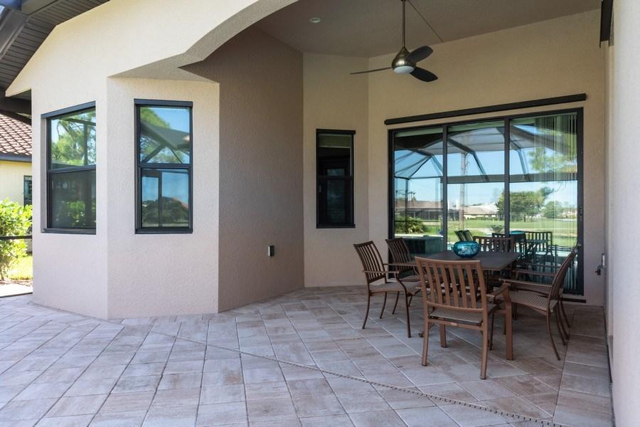 Real Estate Photography - 28460 San Amaro, Bonita Springs, FL, 34135 - Lanai